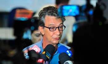 Pesquisador Christovam Barcellos fala em entrevista coletiva sobre Brumadinho