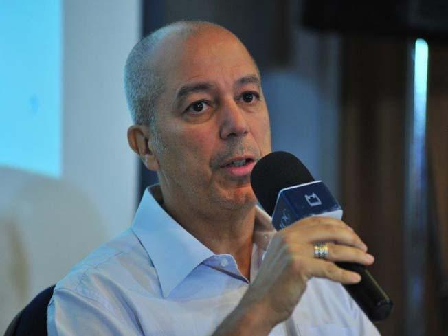 Pesquisador Carlos Machado fala no evento sobre o desastre da Vale em Brumadinho