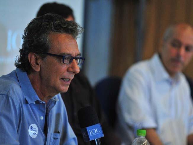 O pesquisador Christovam Barcellos fala no evento sobre o desastre da Vale em Brumadinho
