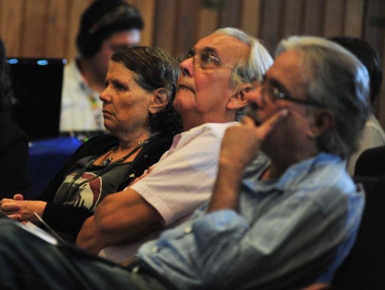 Plateia do evento sobre o desastre da Vale em Brumadinho