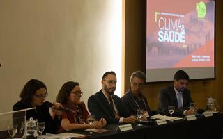 Participantes do Encontro Internacional sobre Clima e Saúde realizado Brasília