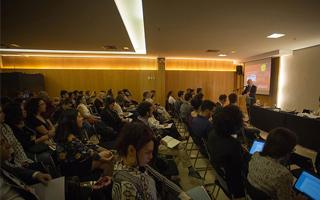 Público do Encontro Internacional sobre Clima e Saúde realizado em Brasília